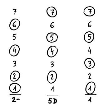 análisis armónico de las líneas 2 y 3