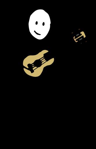 alumno IFR tocando el ukelele