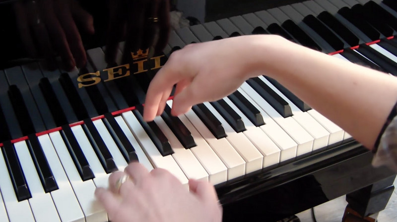 video of IFR Exercise 1 for piano