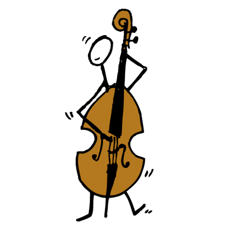 image of upright bass