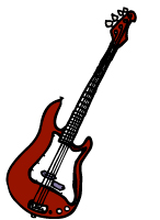 image of electric bass