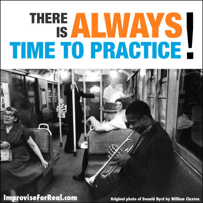 (image and quote about practicing music)