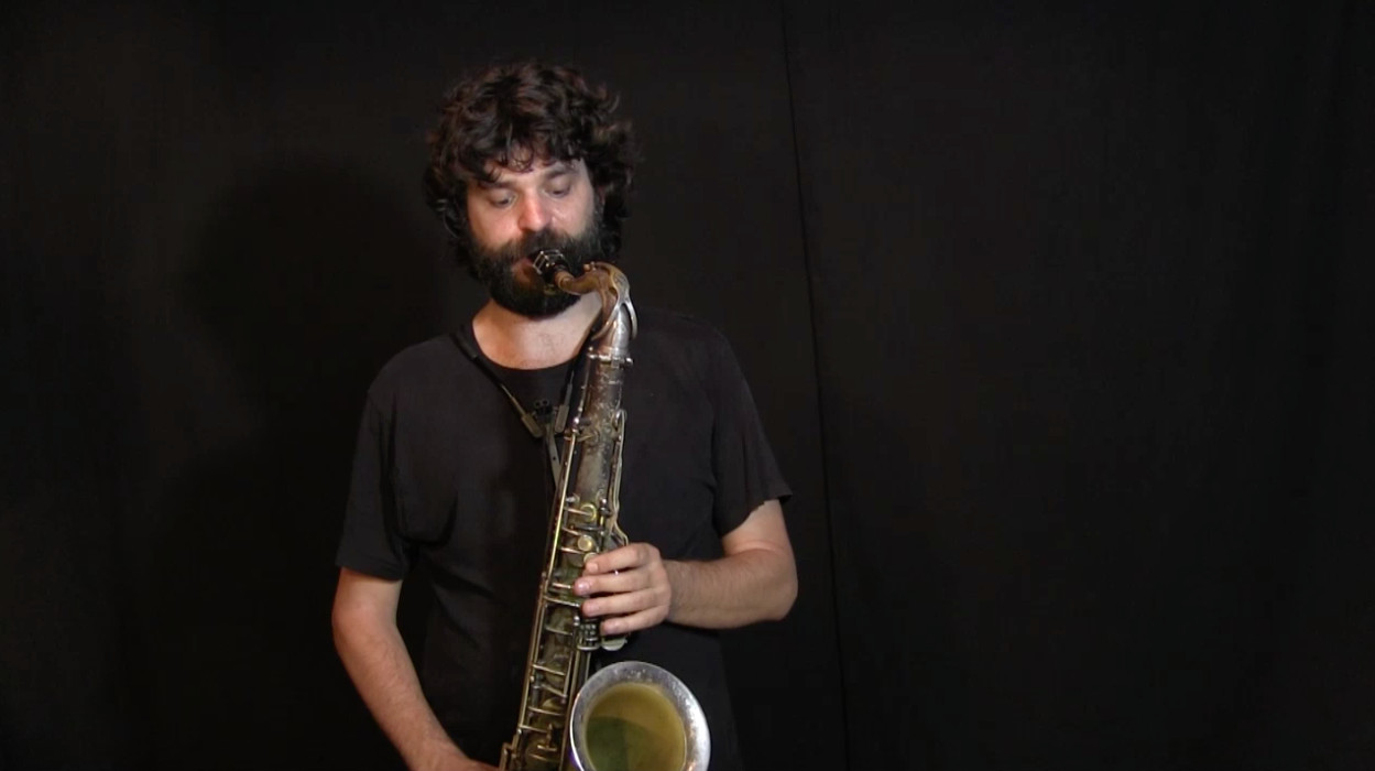 video of IFR Ex. 2, 2nd harmonic environment on tenor saxophone