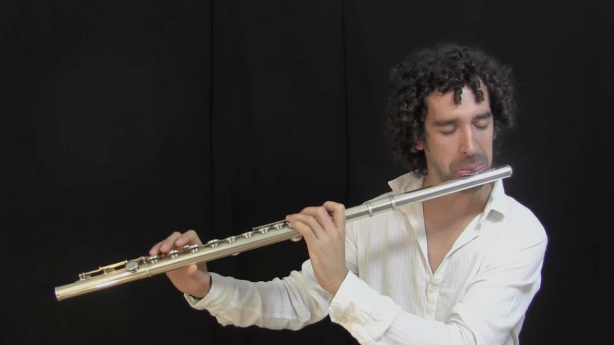 video of IFR Ex. 2, 4th harmonic environment on flute