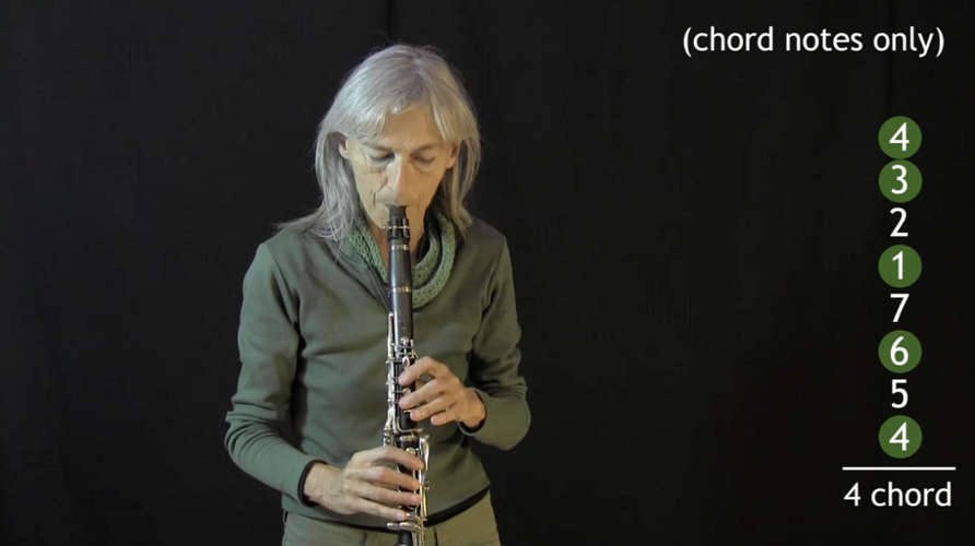 video of IFR Ex. 3 on clarinet