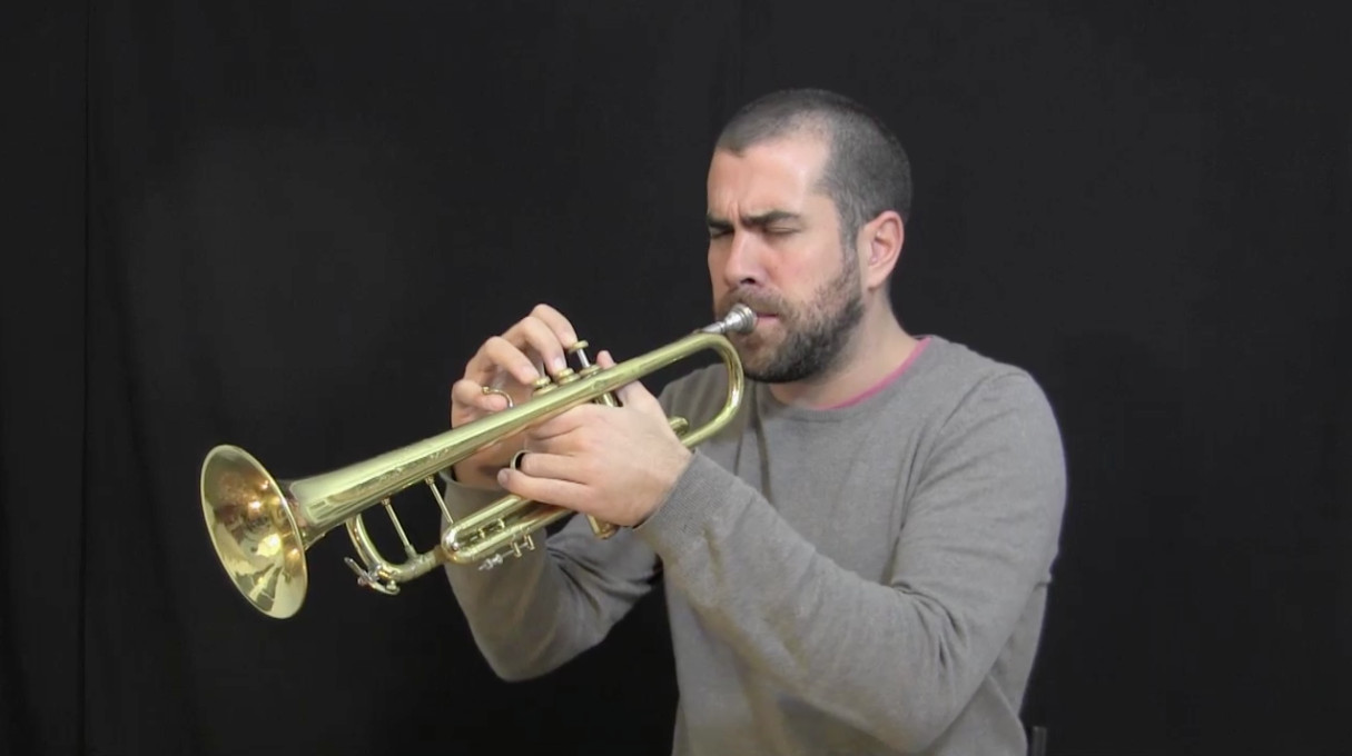 video demonstration of the IFR Staircase exercise on trumpet
