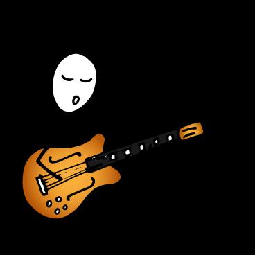 guitarist singing the IFR tonal numbers