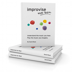 Improvise for Real paperback available on Amazon