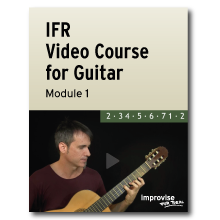 image of IFR video course for guitar
