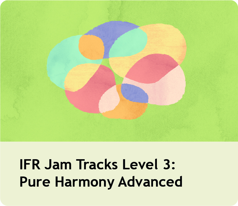 IFR Jam Tracks Level 3: Pure Harmony Advanced