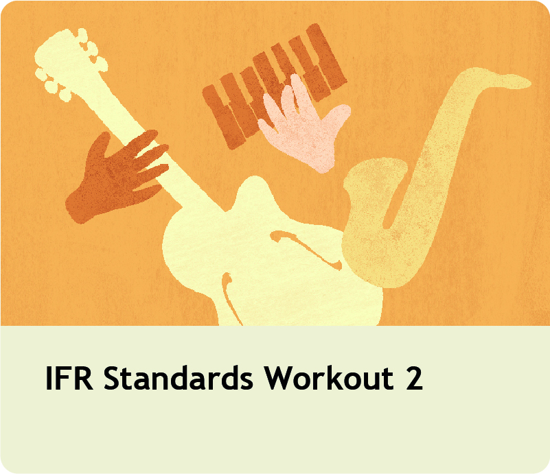 IFR Standards Workout 2