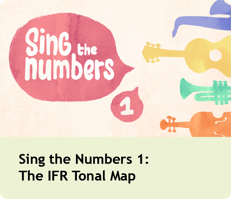 Sing the Numbers 1: The IFR Tonal Map